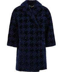 simonetta blue coat for girl