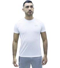 camiseta blanco under armour streaker 2.0
