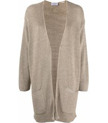 gianfranco ferré pre-owned 1990s lurex-knit slouchy cardigan -