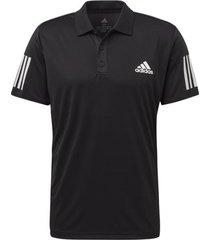 polo shirt korte mouw adidas 3-stripes club poloshirt