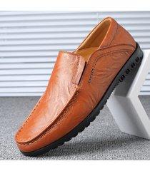 scarpa antiscivolo da uomo con cuciture morbide suola morbida