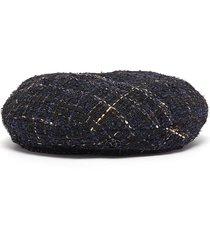 'flore' tweed beret