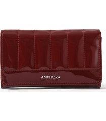 billetera  roja amphora harris