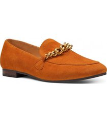 mocasín cuero ashtynp camel nine west