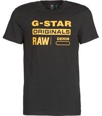 t-shirt korte mouw g-star raw compact jersey o
