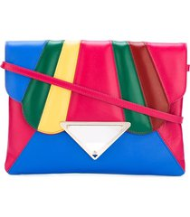 sara battaglia 'tulip' shoulder bag - multicolour