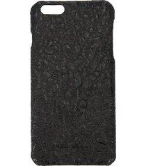 rick owens textured iphone 6 case - black