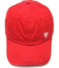 boné cavalera strapback logo vermelho