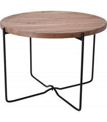 stolik kawowy drewno metal mimi