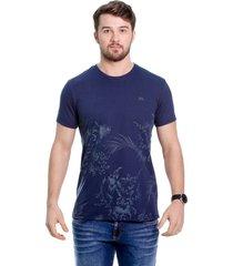 camiseta javali marinho barrado