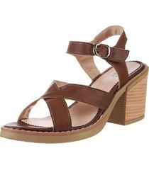 sandalia marrón pink