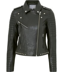 bikerjacka cujewel leather jacket