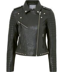 bikerjacka cujewel leather jacket