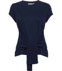 ellinoriw t-shirt t-shirts & tops short-sleeved blå inwear