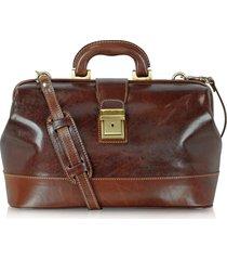 chiarugi designer doctor bags, handmade leather professional doctor bag
