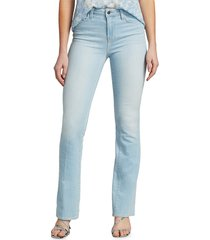 l'agence women's oriana high-rise straight-leg jeans - belmond - size 26 (2-4)