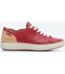 zapato casual mujer pikolinos tdh0 rojo