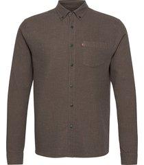peter lt flannel shirt overhemd casual bruin lexington clothing