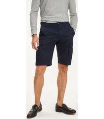 tommy hilfiger men's essential cargo shorts sky captain - 36
