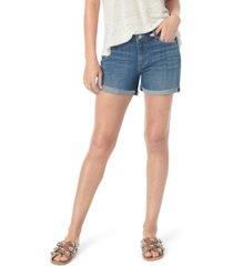 joe's jeans high-rise cuffed shorts
