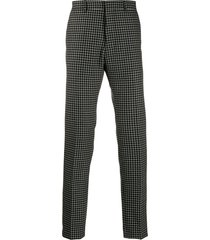 ami cigarette fit trousers - black