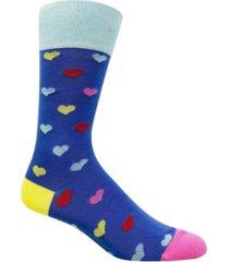 love sock company men's casual socks - hearts