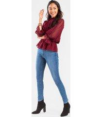levi's® 721 high rise skinny jean - medium wash