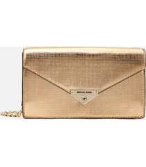 michael michael kors women's grace medium envelope clutch - pale gold