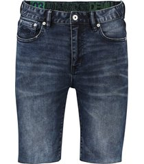 bermuda superdry 5-pocket donkerblauw