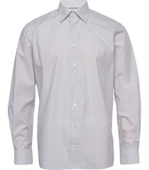 contemporary fit business fine twill stretch shirt overhemd business wit eton