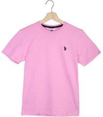 camiseta rosa us polo assn