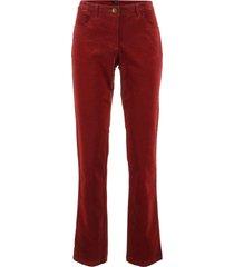 pantaloni in velluto (rosso) - bpc bonprix collection