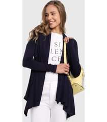 cardigan  azul navy active