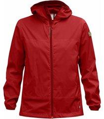 fjällräven jas fjällräven abisko windbreaker jacket w red-xs