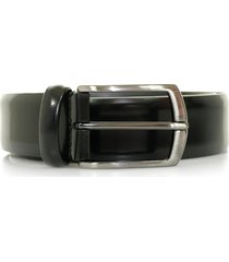 anderson's black shine leather belt a/1981 pl262 n1