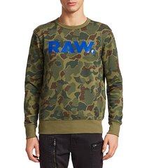 zeabel camouflage logo sweatshirt