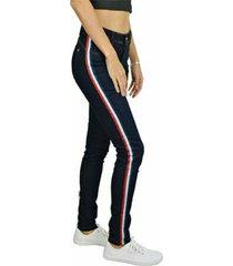calça jeans nalu rio listra lateral feminina