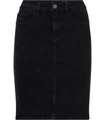 jeanskjol vmhot nine hw dnm pencil skirt