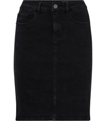jeanskjol vmhot nine hw dnm pencil skirt