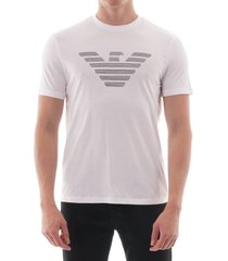 eagle logo t-shirt - white 6g1tco