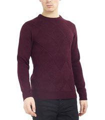 sweater brave soul burdeo - calce regular