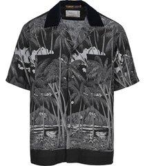sacai hawaiian print shirt