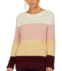 barbour salcombe cotton colorblocked sweater