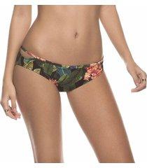 panty de vestido de baño estampado tropical kibys