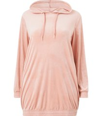 velourklänning mhelena l/s sweat dress