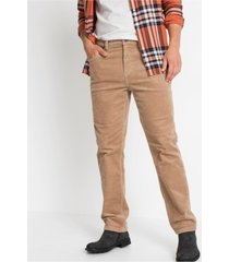 classic fit stretch corduroy broek, tapered