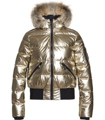 goldbergh aura jacket real raccoon
