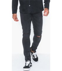 only & sons onswarp black washed pk 4336 jeans svart