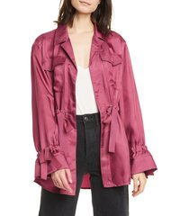 women's cinq a sept mathieu twill jacket