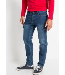 regular fit stretch thermojeans, straight